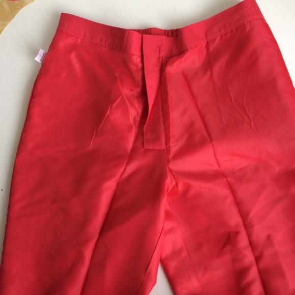 Jessica London Pants - Jessica London Dark Pink Trouser Pants Size 16